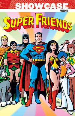 Cover for the Showcase Presents: Super Friends Vol. 1 Trade Paperback