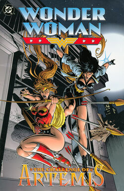 Cover for the Wonder Woman: The Challenge of Artemis Trade Paperback
