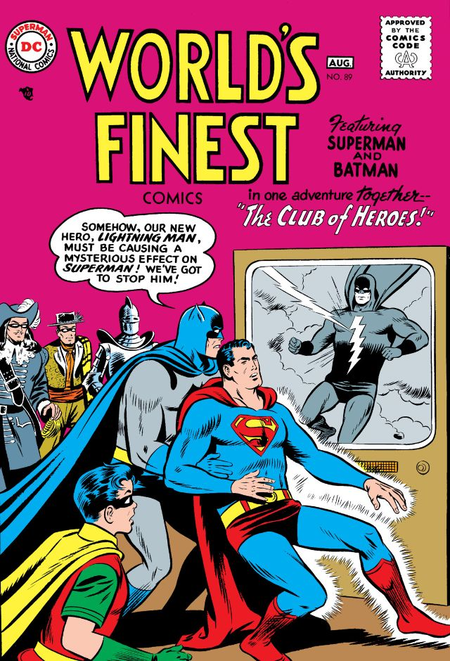 Image result for World's Finest #89