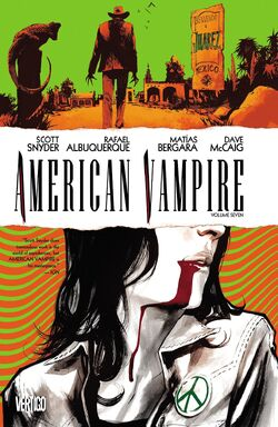 Cover for the American Vampire Vol. 7 Trade Paperback
