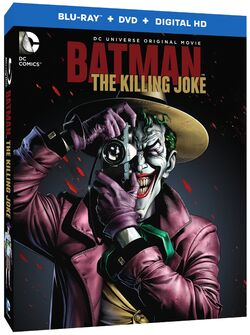 Batman The Killing Joke Blu-Ray