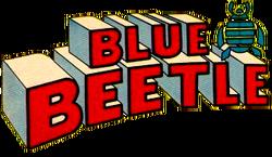 Blue Beetle (1965 Charlton) Logo