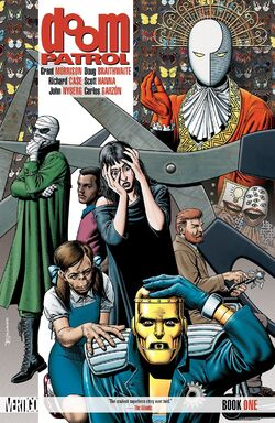 Cover for the Doom Patrol: Book One Trade Paperback