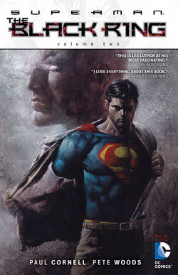 Cover for the Superman: The Black Ring Vol. 2 Trade Paperback