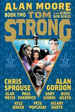 Cover for the Tom Strong: Book Two Trade Paperback