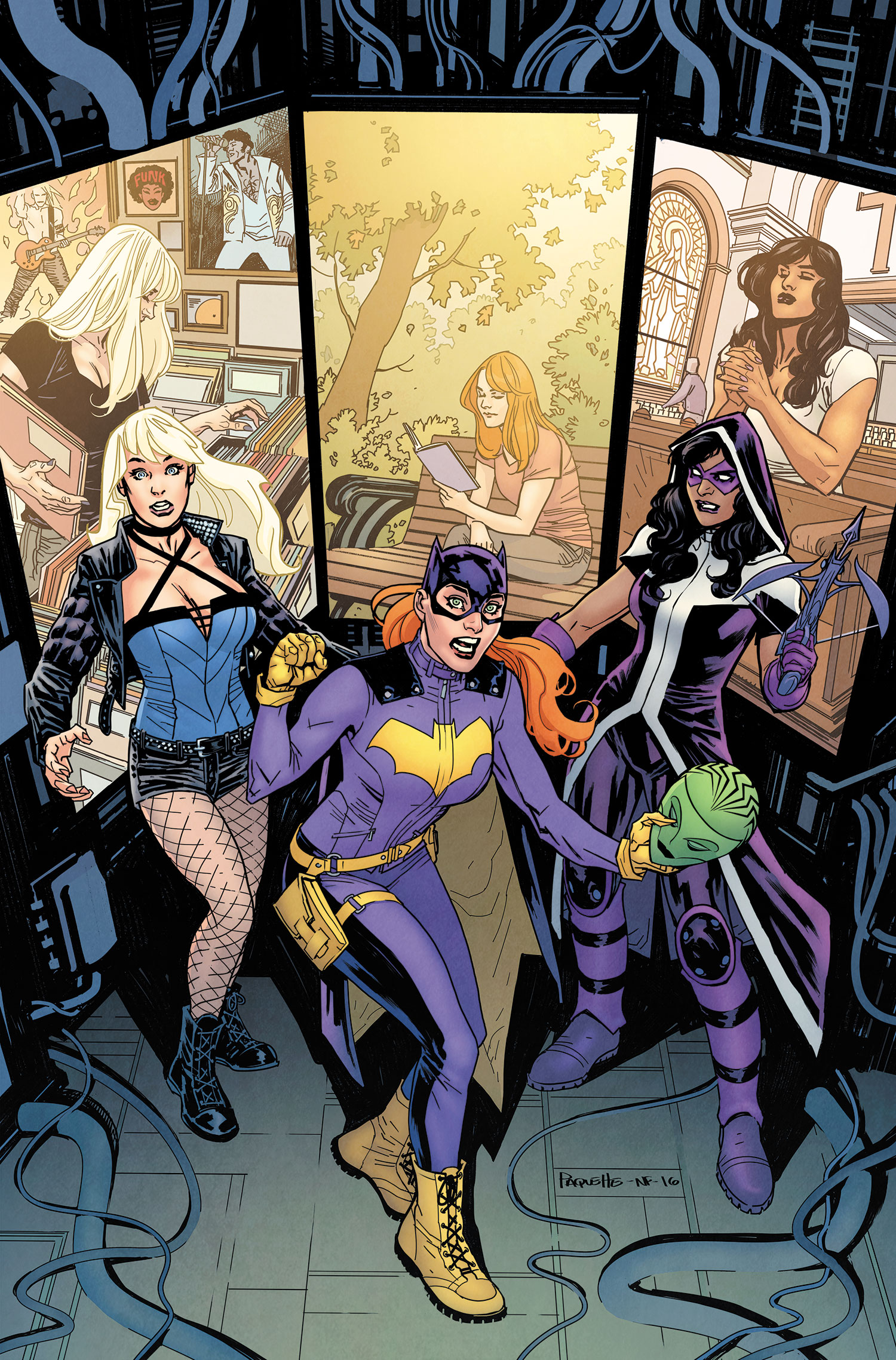 Batgirl And The Birds Of Prey Vol 1 5 Dc Database Fandom