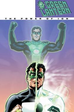 Cover for the Green Lantern: The Power of Ion Trade Paperback