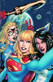 Justice League United Vol 1 4 Textless Selfie Variant
