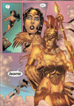 Athena appearing to Wonder Woman 001