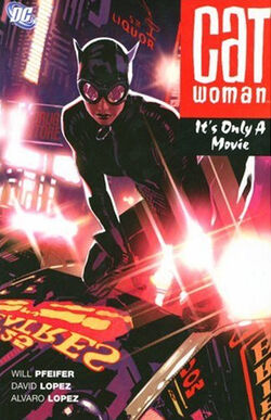 Cover for the Catwoman: It's Only a Movie Trade Paperback