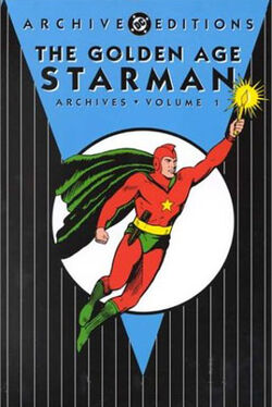 Cover for the The Golden Age Starman Archives Vol. 1 Trade Paperback
