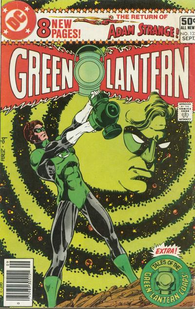 Green Lantern Comic Book
