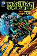 Martian Manhunter Rings of Saturn TPB