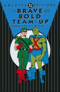 Cover for the The Brave and the Bold Team-Up Archives Vol. 1 Trade Paperback