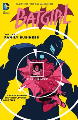 Cover for the Batgirl: Family Business Trade Paperback