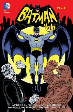 Cover for the Batman '66 Vol. 5 Trade Paperback
