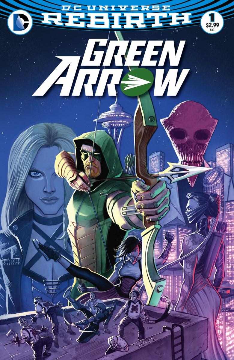 Green Arrow Vol 6 1 Solicit