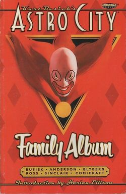 Cover for the Astro City: Family Album Trade Paperback