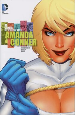 Cover for the DC Comics: The Sequential Art of Amanda Conner Trade Paperback
