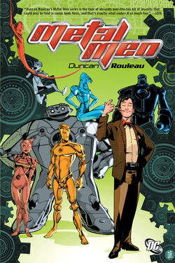 Cover for the Metal Men Trade Paperback