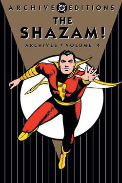 Cover for the The Shazam! Archives Vol. 4 Trade Paperback