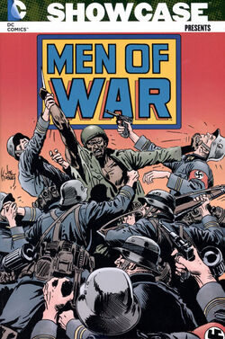 Cover for the Showcase Presents: Men of War Trade Paperback