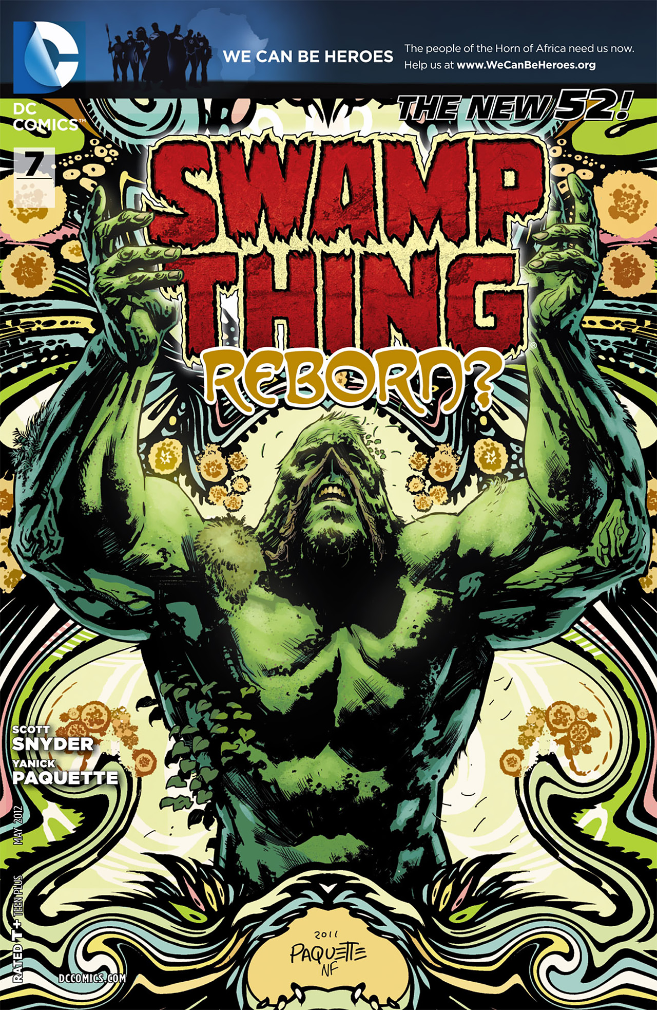 Swamp Thing Vol 5 7 Dc Database Fandom Powered By Wikia