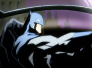 Batman in Batmobile