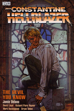 Cover for the Hellblazer: The Devil You Know Trade Paperback