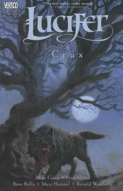 Cover for the Lucifer: Crux Trade Paperback