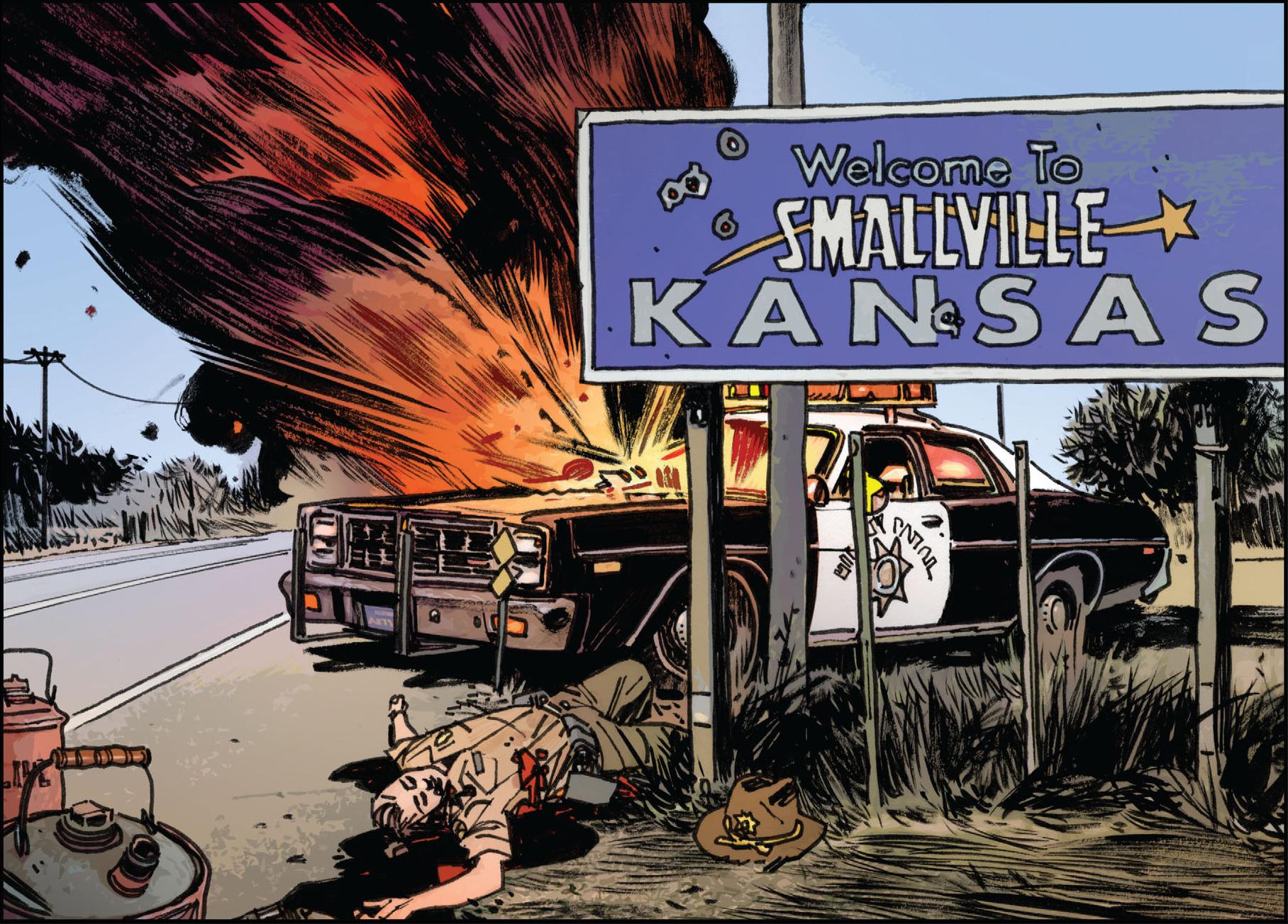 Smallville Kansas Dc Database Fandom Powered By Wikia