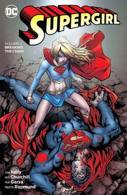 Cover for the Supergirl: Breaking the Chain Trade Paperback