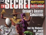 Batman Villains Secret Files and Origins Vol 1