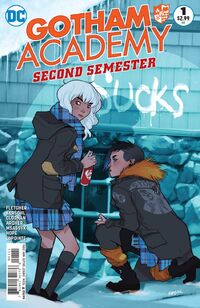 Gotham Academy Second Semester Vol 1 1