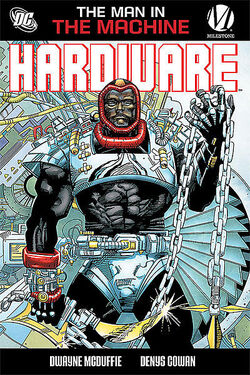 Cover for the Hardware: The Man in the Machine Trade Paperback