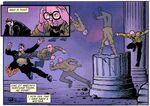 Strange demonstrates a flying kick on Norman Madison