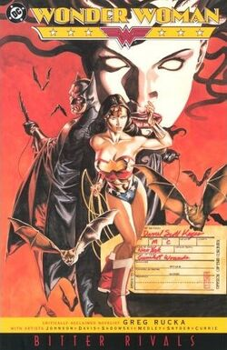 Cover for the Wonder Woman: Bitter Rivals Trade Paperback