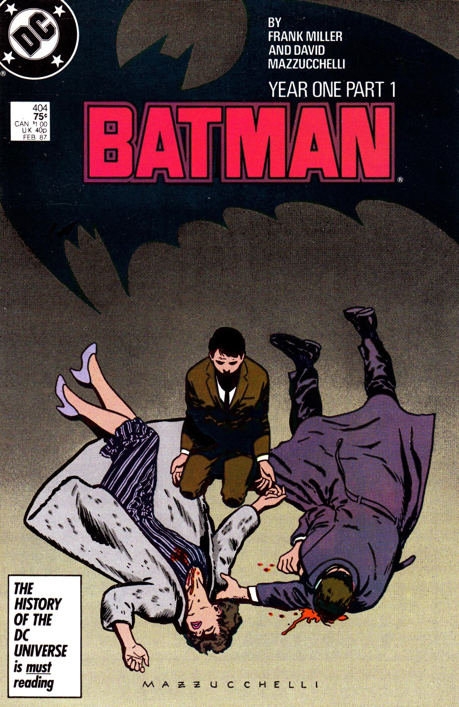 Batman: Year One | DC Database | FANDOM powered by Wikia