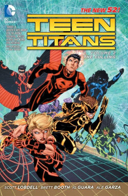 Cover for the Teen Titans: The Culling Trade Paperback