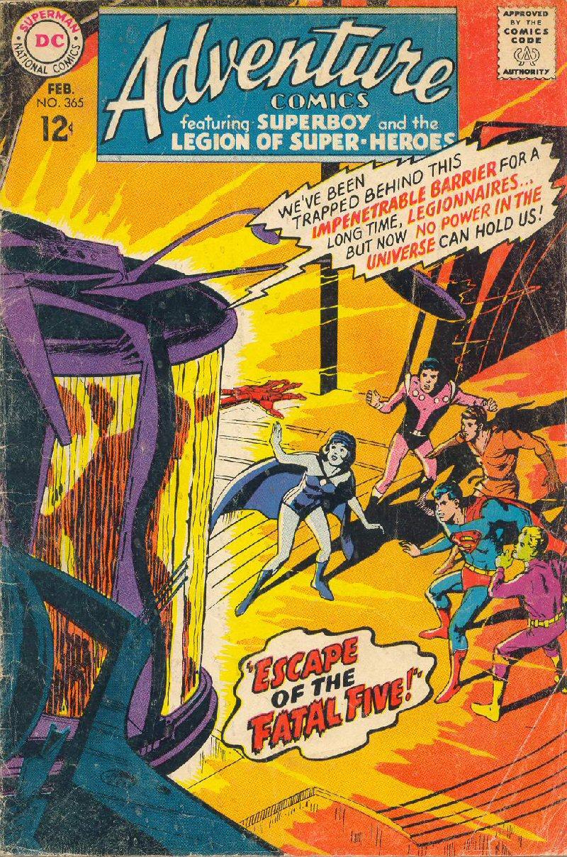 Adventure Comics Vol 1 365 Dc Database Fandom