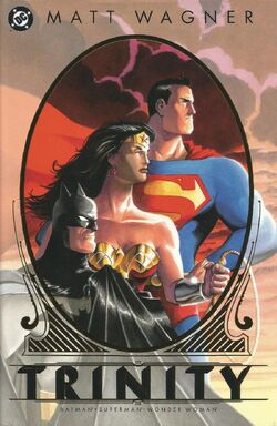 Cover for the Batman/Superman/Wonder Woman: Trinity Trade Paperback