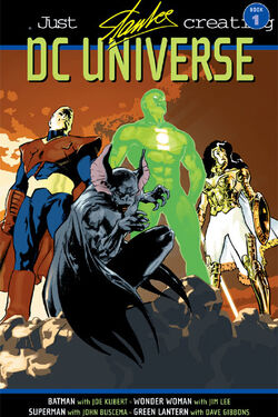 Cover for the Just Imagine Stan Lee Creating the DC Universe Vol. 1 Trade Paperback