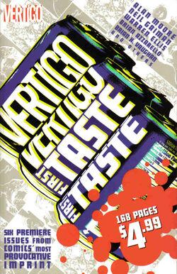 Cover for the Vertigo: First Taste Trade Paperback