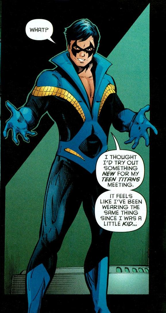 Nightwing  sc 1 st  DC Database - Fandom & Richard Grayson (New Earth) | DC Database | FANDOM powered by Wikia