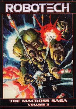Cover for the Robotech: The Macross Saga Vol. 3 Trade Paperback