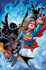 Supergirl and Batgirl, together again for the first time