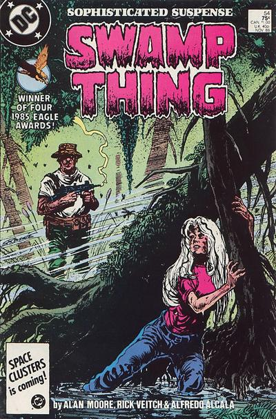 Swamp Thing Vol 2 54 Dc Database Fandom Powered By Wikia