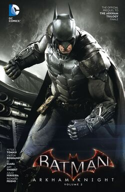 Cover for the Batman: Arkham Knight Vol. 2 Trade Paperback