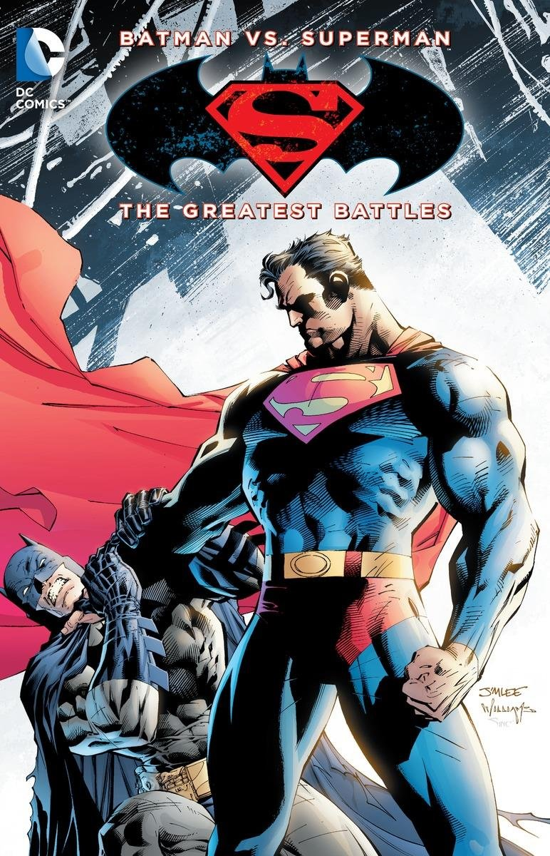 batman vs superman the greatest battles collected dc