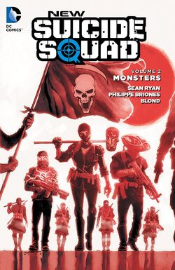 Cover for the New Suicide Squad: Monsters Trade Paperback